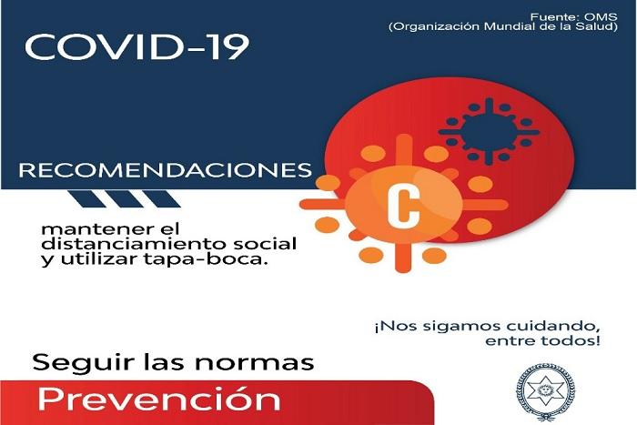 Reporte Provincial de casos de coronavirus del día domingo 9 de agosto