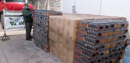 Decomisaron botellas de wisky valuados en más de 7 millones de pesos