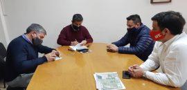 Con fondos del Gobierno de la Provincia, en Campo Quijano y Rosario de Lerma se realizarán obras de pavimentación