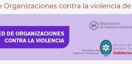 Convocan a registrarse a organizaciones sociales que trabajan en la temática de violencia de género