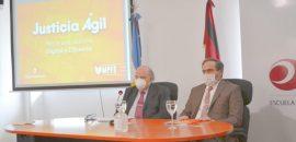 Presentaron Justicia Ágil, la plataforma informática que permite implementar el expediente electrónico en el Poder Judicial