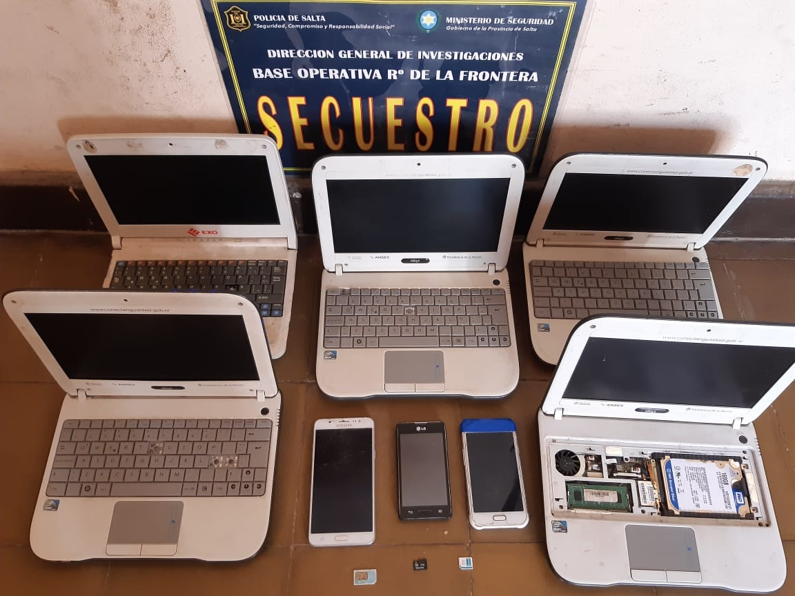 En Rosario de la Frontera detienen a un hombre que era investigado por distribución de pornografía infantil