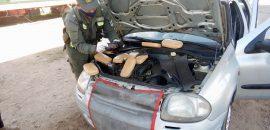 Detienen a un hombre que transportaba 10 kilos de cocaína ocultos en un automóvil