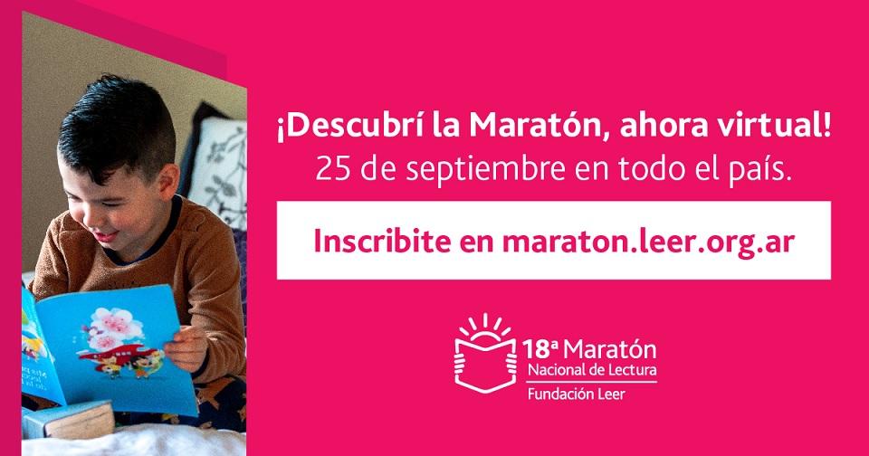 La edición 18 de la Maratón Nacional de Lectura se prepara para conectar a todo el país