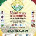Edición virtual:  la 5° Feria de las Legumbres se desarrollará del 6 al 28 de agosto