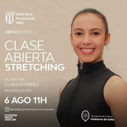 Clases virtuales abiertas del Ballet de la Provincia