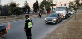 Durante el fin de semana detectaron 223 conductores alcoholizados