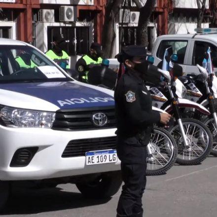 La Provincia entregó 27 móviles para reforzar el trabajo policial