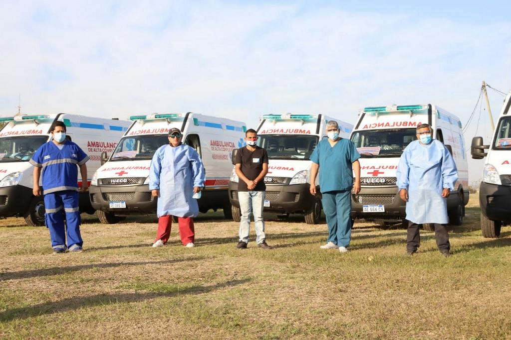 Ante el aumento de casos de COVID-19 refuerzan el sistema sanitario de Tartagal