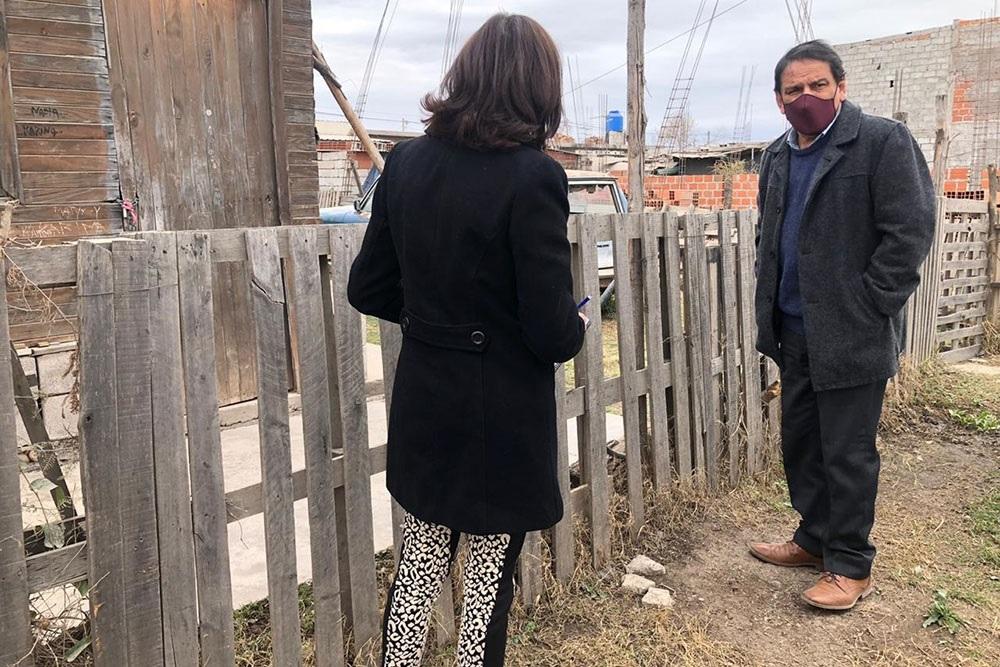 Relevamiento habitacional de lotes adjudicados en Parque La Vega, San Calixto y Nueva Esperanza de la Capital