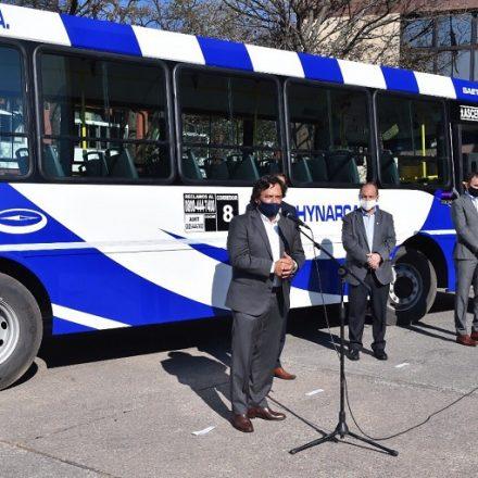 """Saenz: """"el sistema de transporte de Salta es uno de los mejores del país"""""""