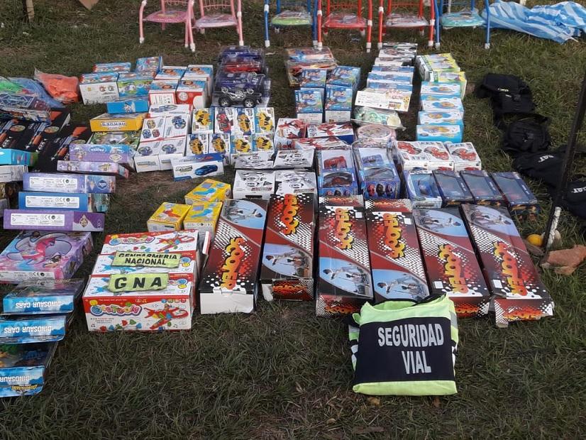 En Tartagal secuestran mercadería de contrabando valuada en más de 100 mil pesos