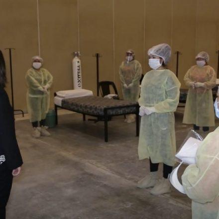 El Centro de recuperación para Covid-19 Limache se encuentra listo para recibir pacientes con síntomas leves y descomprimir las camas del hospital Papa Francisco