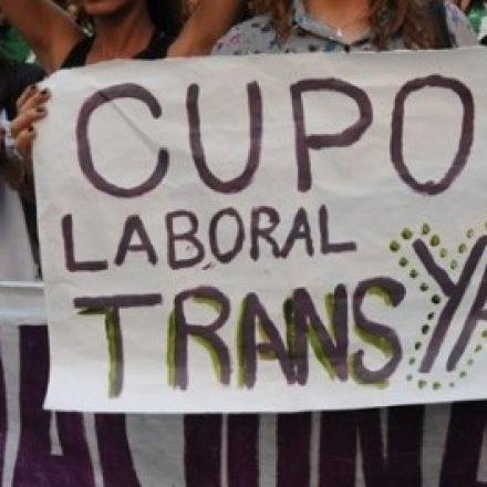 Al menos el 1% de los cargos del ámbito público nacional deberán ser ocupados por personas travestis, transexuales y transgénero que sean idóneas