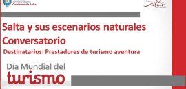 Día Mundial del Turismo: Salta tendrá un importante programa de capacitaciones y actividades virtuales