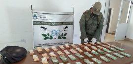 Un hombre intentó salir del país con 3.501.000 pesos argentinos sin la documentación respaldatoria