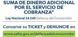 """Infraccionaron locales de """"Cobro Express"""" y Rapipago por cobro de recargos en pago de facturas"""