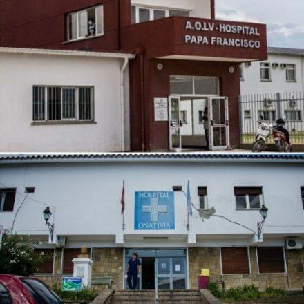 Obras en los hospitales Papa Francisco y Oñativia que permitirán sumar más camas para la atención de pacientes con Covid-19