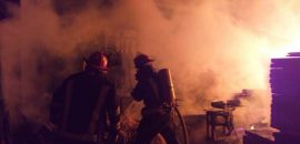 Sofocan un incendio en la zona sur de la Capital
