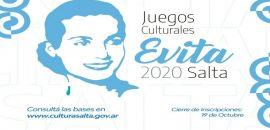 Abierta la inscripción para participar de los Juegos Culturales Evita 2020
