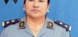 Continúan las bajas en la Policía Provincial: la Comisario Marcelina Ríos nueva víctima del COVID-19