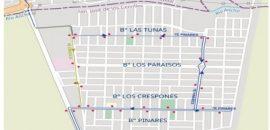 Desde este lunes: cambio de recorrido para el 7E Pinares y 7E El Círculo