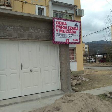 Capital: paralizan obras de ampliaciones no permitidas en viviendas ejecutadas por el IPV