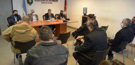 Funcionarios provinciales se reunieron con representantes policiales