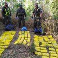 En dos procedimientos incautan 245 kilos de cocaína de máxima pureza