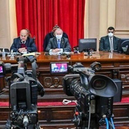 Senadores dieron sanción definitiva a la Emergencia Sanitaria y al Préstamo para la Ampliación del Hospital San Bernardo